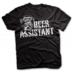 Beer Assistant Big Black - Gas Monkey Garage T-Shirt