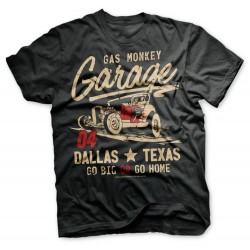 Go Big Or Go Home - Gas Monkey Garage T-shirt
