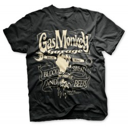 Monkey Wrench - Gas Monkey Garage T-Shirt