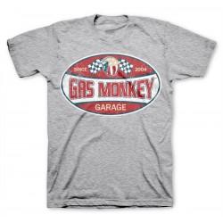Road Racer - Gas Monkey Garage T-shirt (Grey)