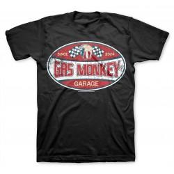 Road Racer - Gas Monkey Garage T-shirt (Black)